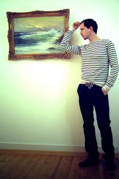 Tiger of Sweden shirt - egoism belt - Levis belt - Levis jeans - dont know shoes