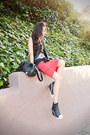 Burnout-tank-uo-top-forever-21-skirt-esley-collection-vest