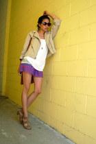 Gap jacket - f21 skirt
