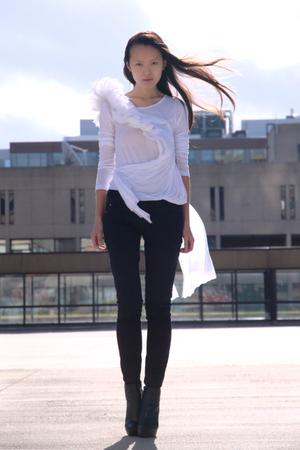 DIY shirt - Ebay shoes - H&M pants
