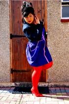 Oasis jacket - asos dress - H&M tights - jasper conran shoes