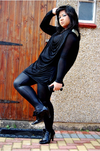 Kate Moss for Topshop dress - Topshop leggings - jasper conran accessories - Pri