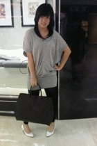 ITC shirt - ITC leggings - Charles & Keith purse - Gaudi shoes - Juicy Couture b
