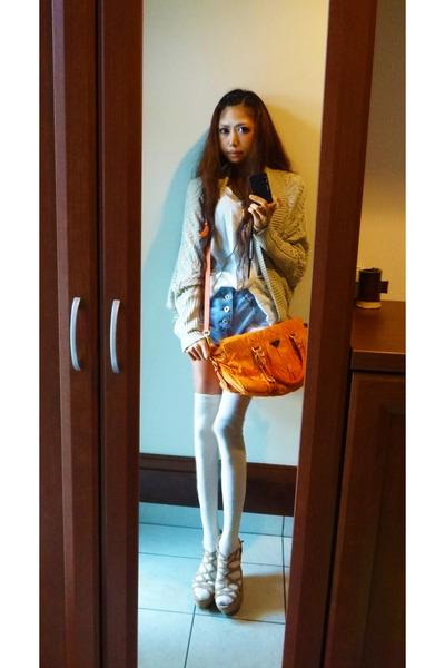 prda handbags - prada orange bag
