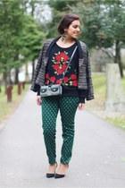 Zara shoes - pull&bear jacket - Zara pants - Zara jumper