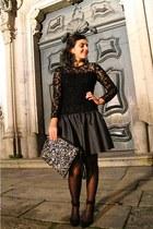 Zara shoes - Zara dress - Primark bag - Parfois earrings