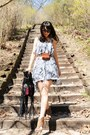 Heather-gray-snake-print-stylestalker-dress-black-chloe-sunglasses-brown-ral