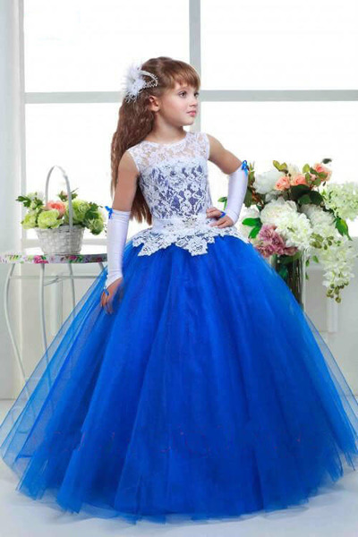 Blue Indian Dresses for Teenagers