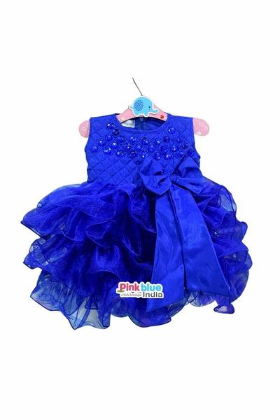 Pink Blue India dress
