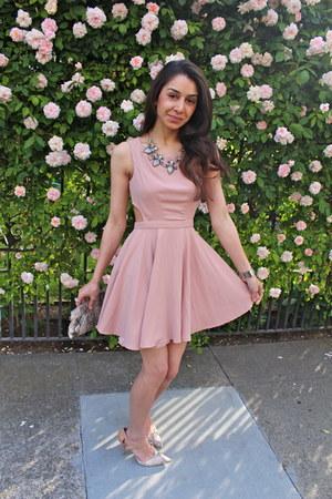 M2N dress - H&M necklace - BCBG heels