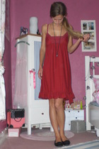 CC-OO dress - From my mum accessories - Pretty Ballerinas shoes