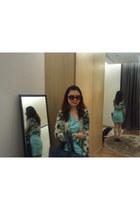 aquamarine monday to sunday dress - sky blue H&M blazer