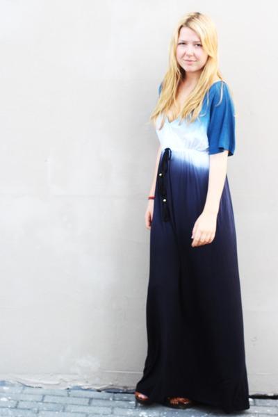 cotton BikBok dress - H&M clogs - clip ons Forever 21 earrings
