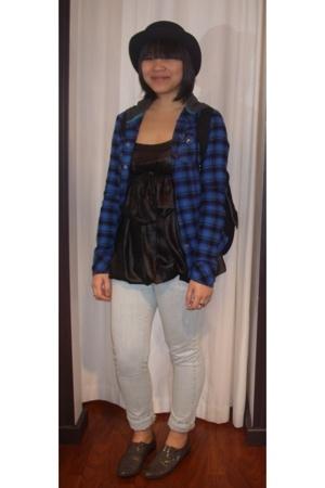 Hurley shirt - wish top - Billabong jeans - Billabong accessories