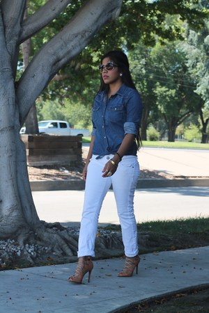 kate spade watch - Mango jeans - Oscar de la Renta sunglasses