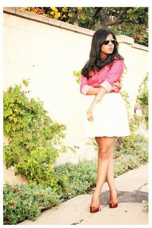 kate spade watch - Topshop dress - Ray Ban sunglasses - Chloe  Isabel ring