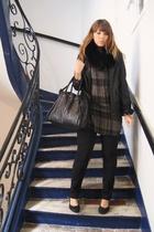 H&M jeans - Marc by Marc Jacobs purse - Zara blouse - Repetto shoes