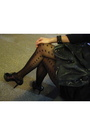 Black-topshop-dress-gray-balenciaga-accessories-black-topshop-stockings-bl