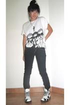 Danny Roberts t-shirt - Armani Exchange jeans - doc martens boots
