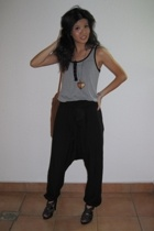 FCUK blouse - Zara pants - Zara shoes