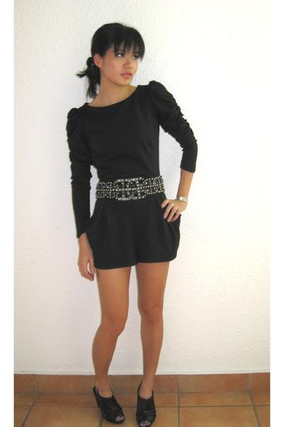 Topshop dress - Zara belt - PedderRed shoes