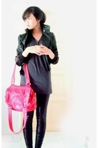 Topshop jacket - shirt - Marc by Marc Jacobs - forever 21 leggings