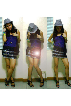 Soul Sister Clothing top - skirt - Charles and Keith heels - belt - Penshoppe ve