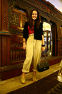 Black-roberta-blazer-red-suit-beige-pants-beige-cmg-shoes-black-chanel-a