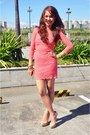 Bubble-gum-bodycon-lace-topshop-dress-nude-brash-pumps