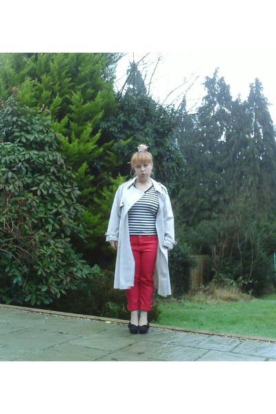 trenchcoat Aquaqutum coat - Gap jeans