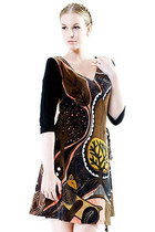 Utopian Jungle Wrap Dress