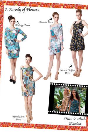 floral dresses Pam & Arch London dress