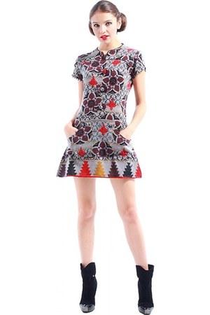 jersey wool Pam & Arch London dress