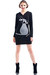 hooded dress Pam & Arch London dress