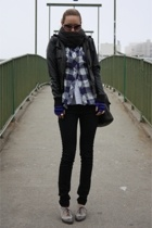 Urban Outfitters jacket - shirt - Marc by Marc Jacobs gloves - Urban Outfitters