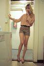 Beige-vintage-shirt-beige-modcloth-shorts-beige-bc-shoes