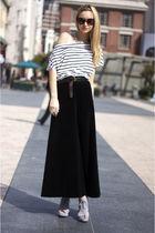 black vintage skirt