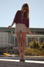 Purple-stylesofia-blouse-beige-need-supply-shoes