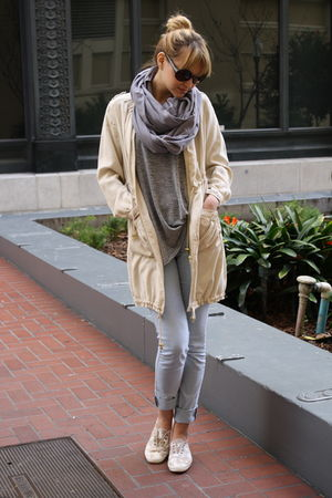 beige Keds shoes