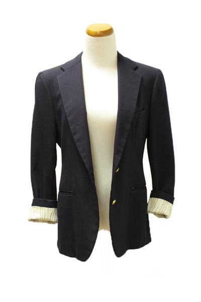 navy vintage blazer
