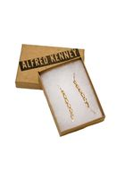 gold Alfred Kenney earrings