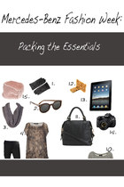 Mercedes-Benz Fashion Week: Packing tips