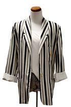 white vintage blazer