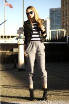 gray American Apparel pants