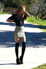 Gold-h-m-skirt