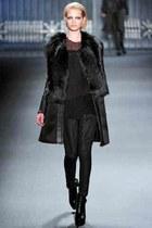 black vera wang coat