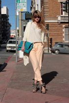 beige surface to air pants - beige Pierre Hardy for Gap shoes