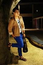 Reiss jacket - FCUK t-shirt - H&M jeans - Poste shoes - All Saints purse - asos