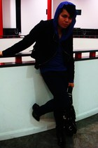 Unconditional t-shirt - Principles jacket - Primark jeans - Bertie shoes - D & G