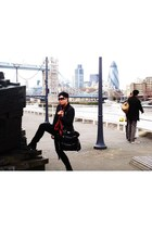 red herring jacket - Twenty8Twelve jeans - Topman shoes - D&G purse - Alexander